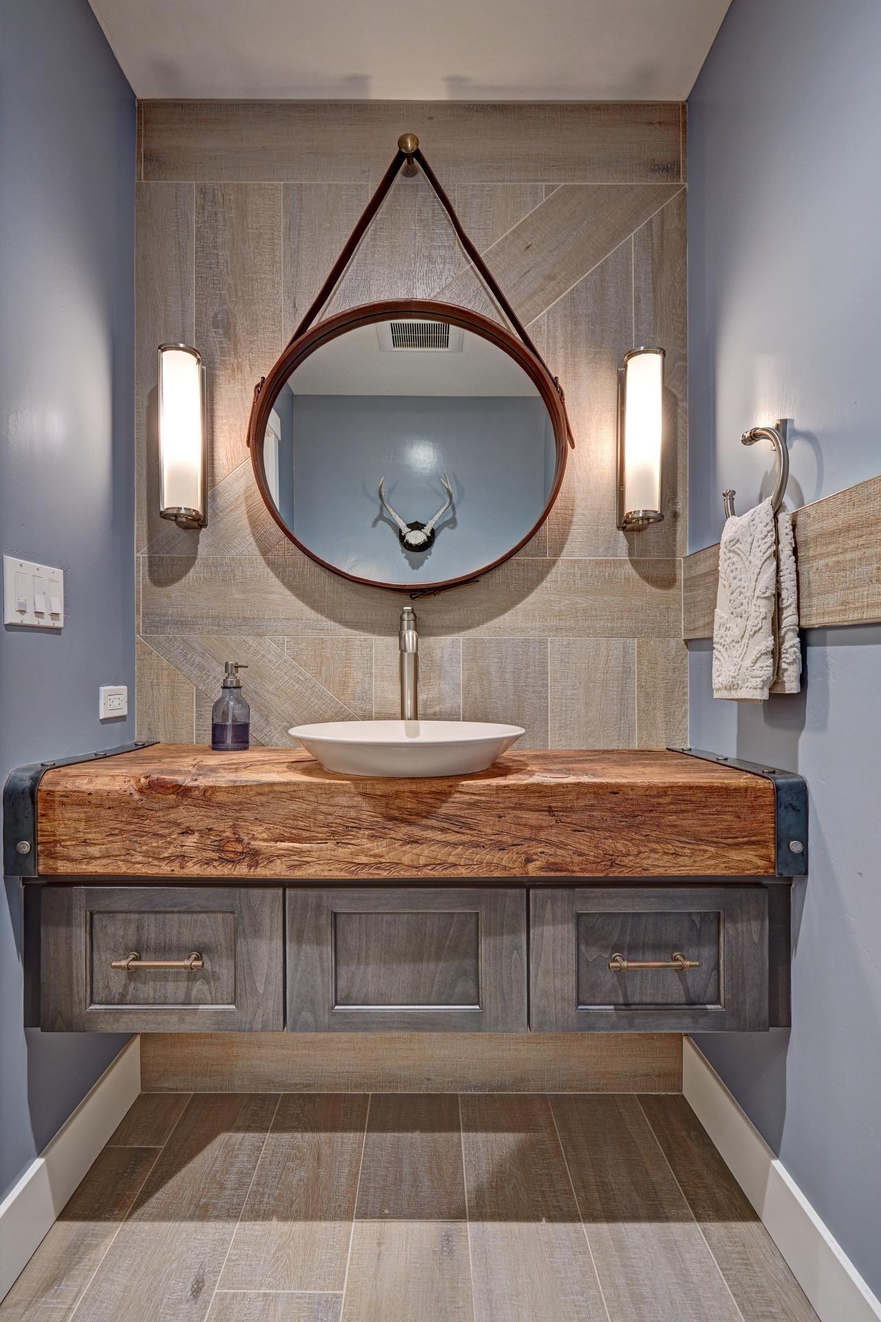 Industrial Looking Bathroom Mirrors