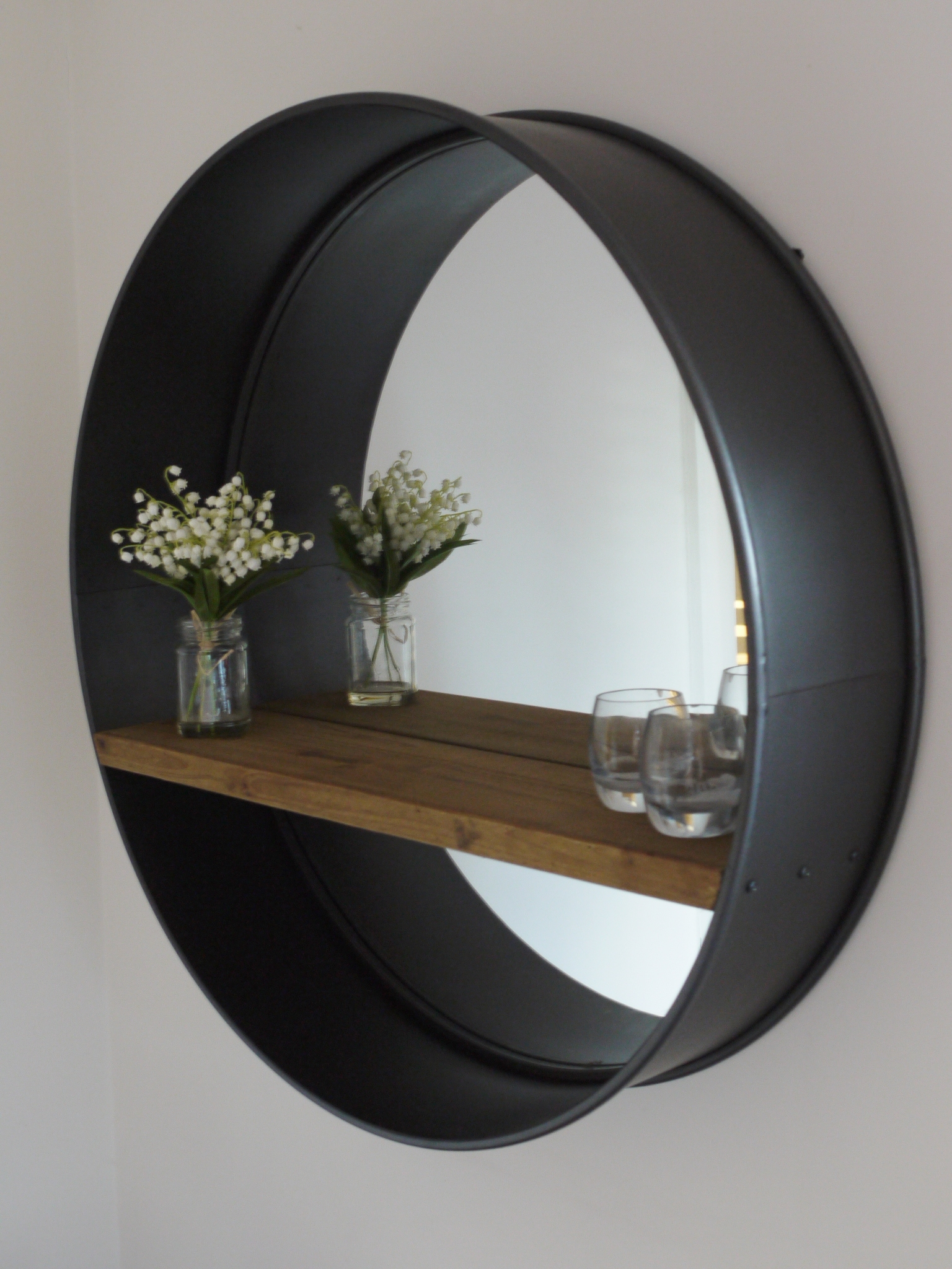 Industrial Style Wall Mirrors