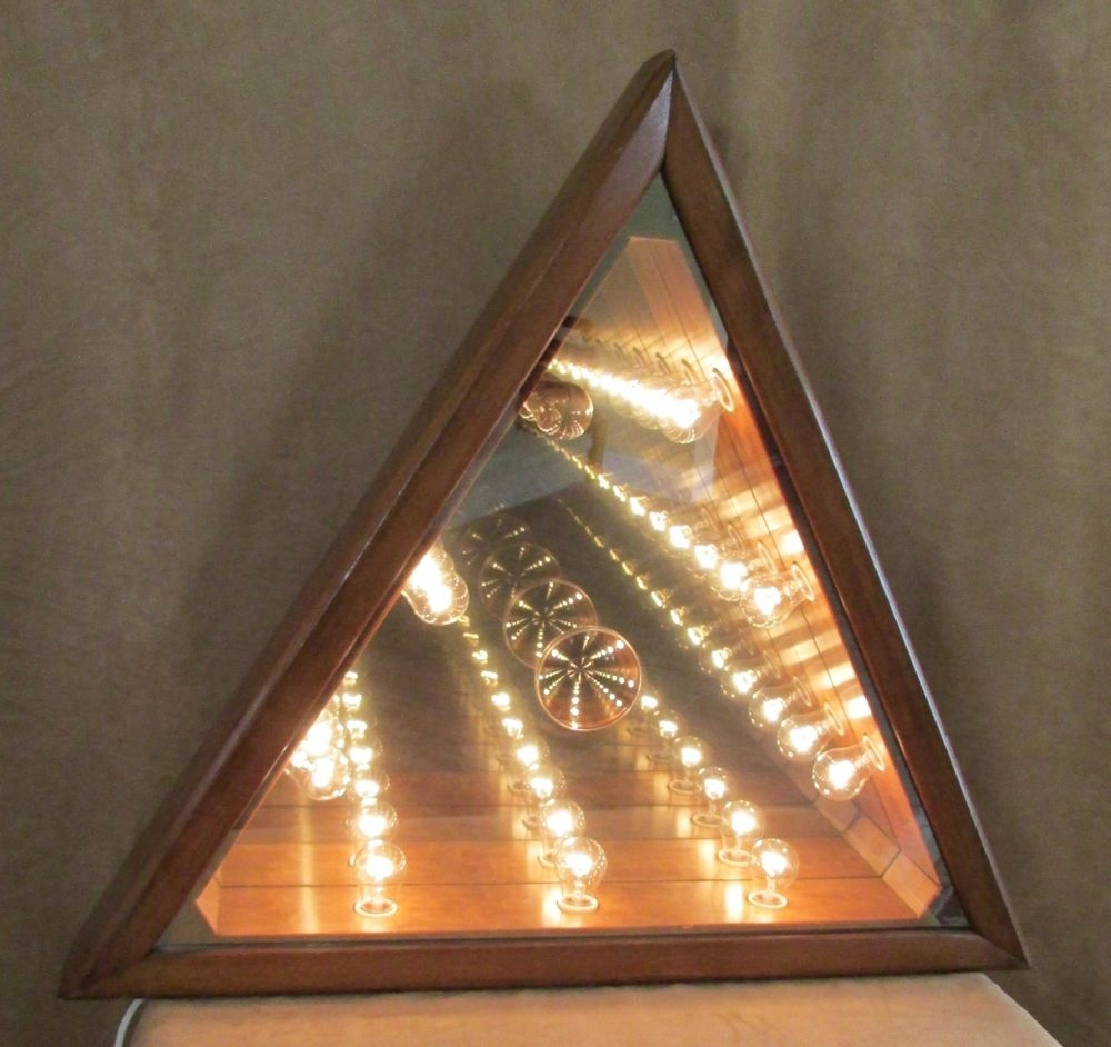 Infinity Lighted Wall Mirror