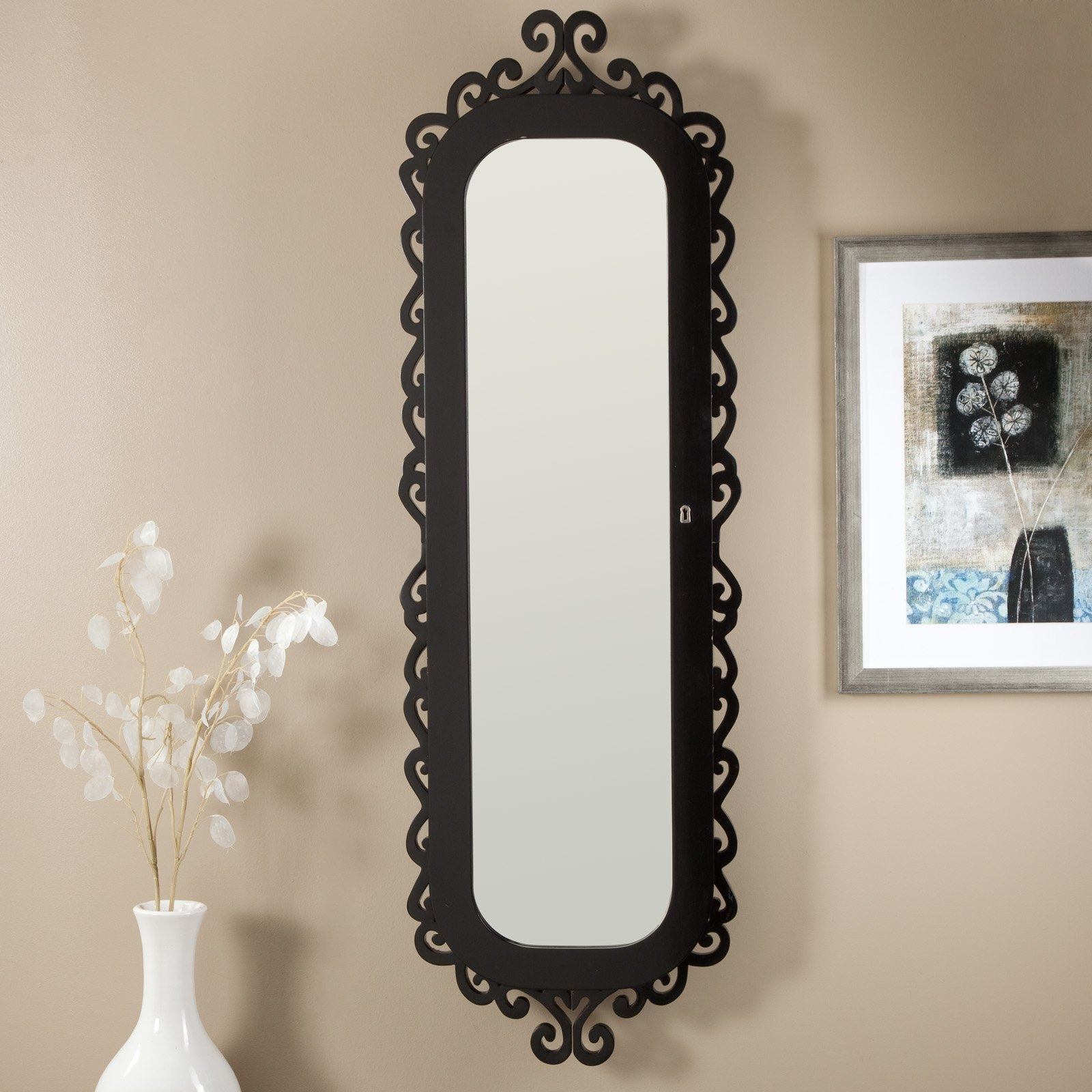 Iron Wall Mirror Decor