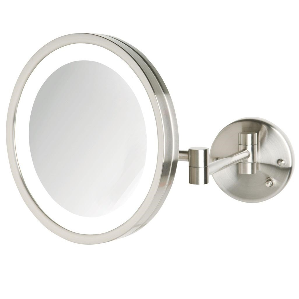 Jerdon Wall Mount Lighted Mirror