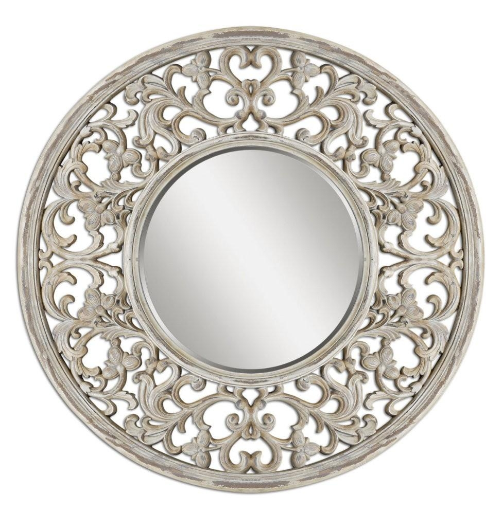 Large Circle Wall Mirror