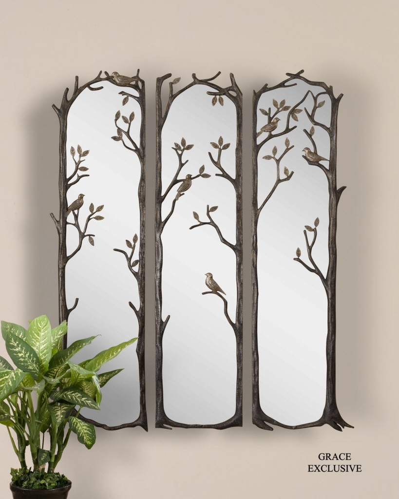 Large Fancy Wall Mirrors