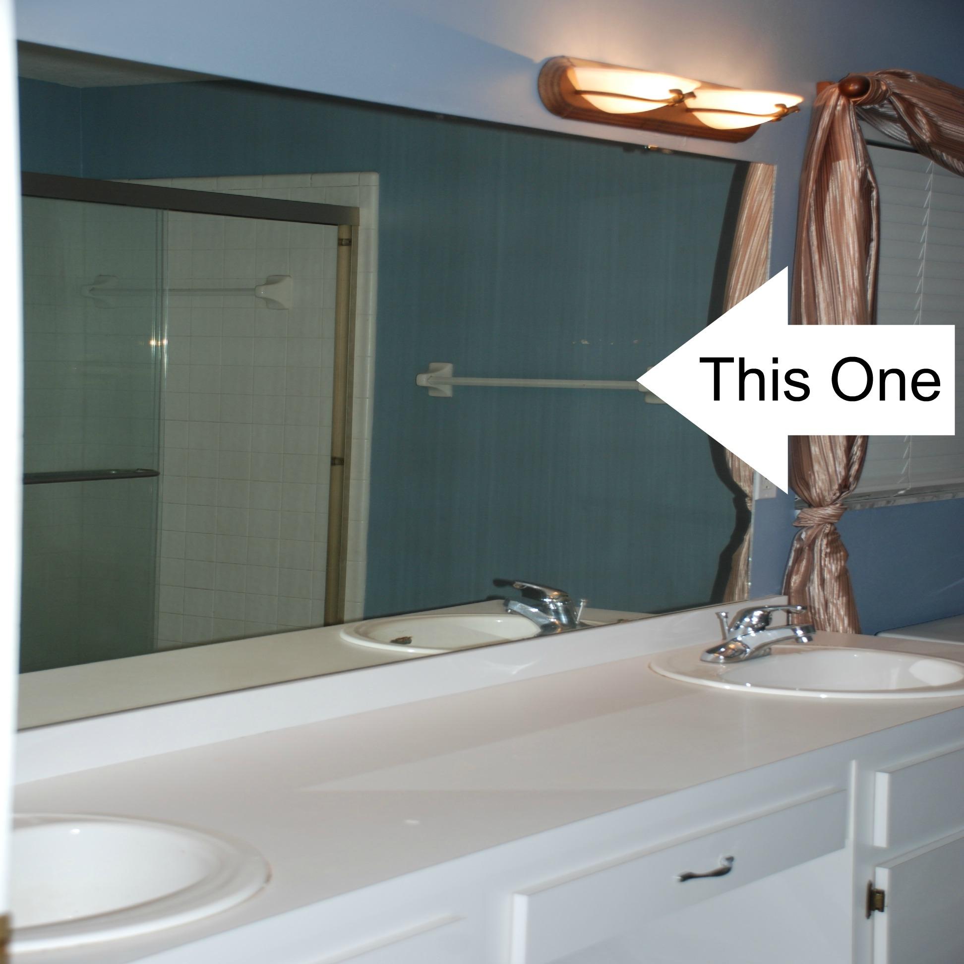 Large Flat Bathroom Mirrors