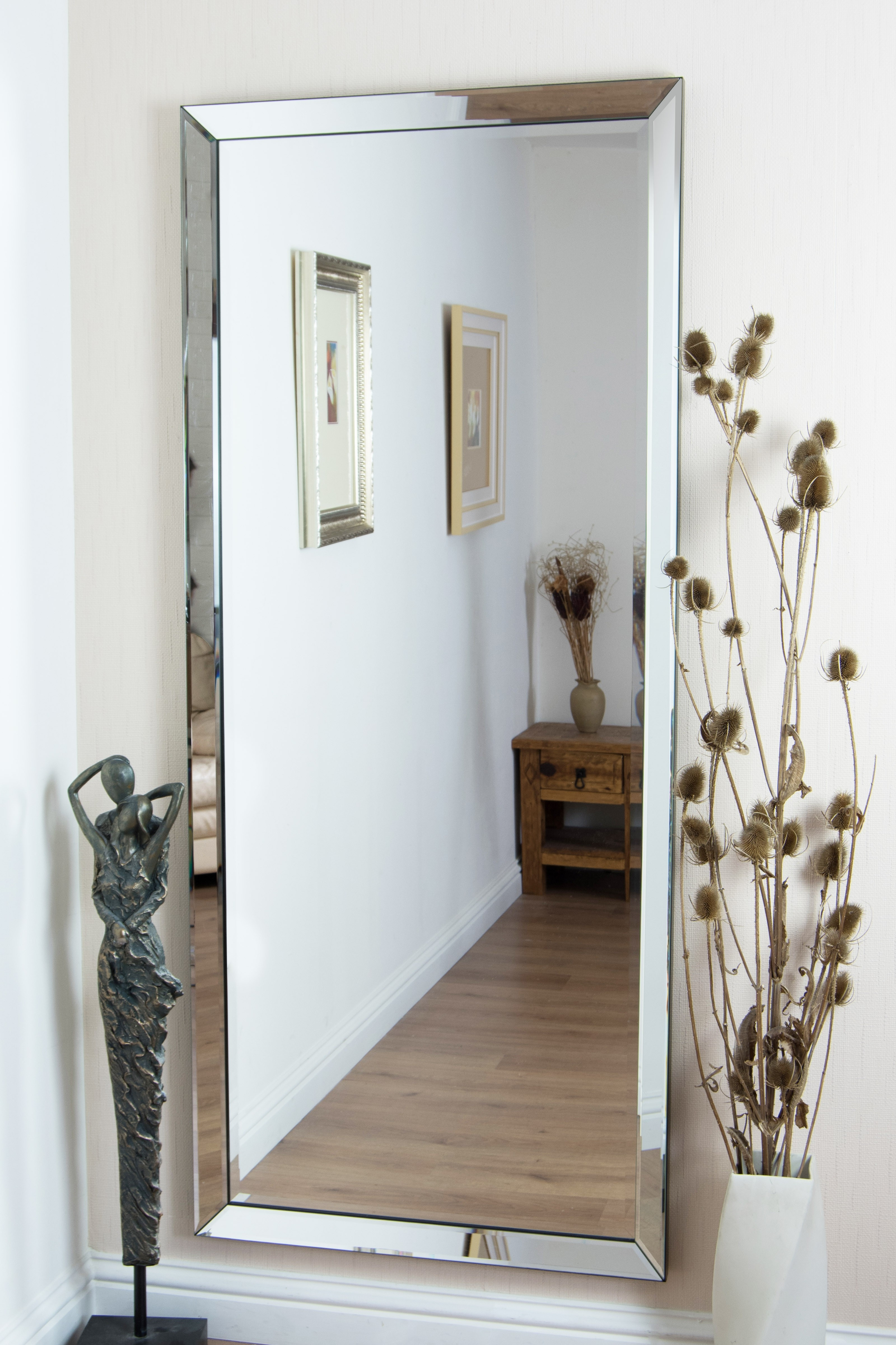Permalink to Large Frameless Wall Mirrors