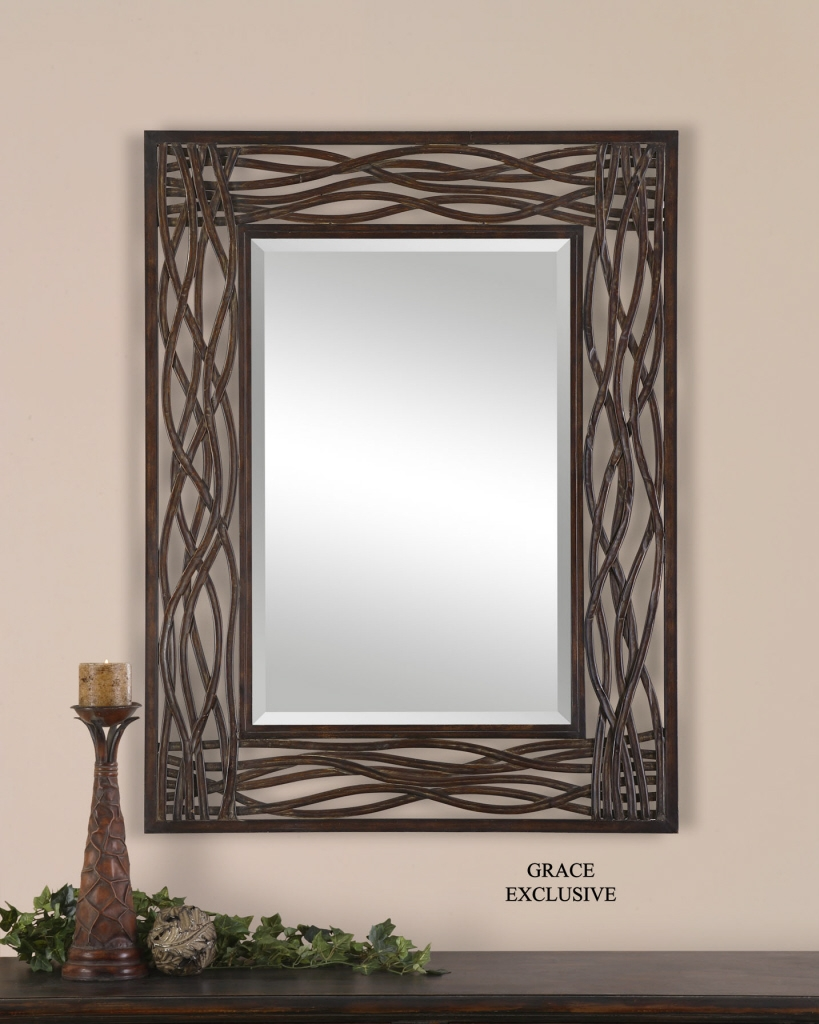 Large Metal Wall Mirrors