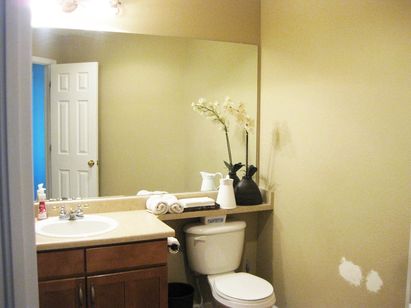 Large Mirror For Small Bathroom • Bathroom Mirrors And Wall ...