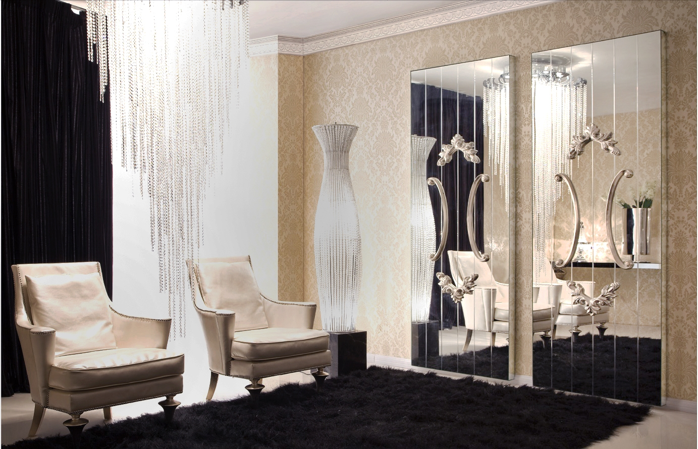 Large Mirror Panels For Walls