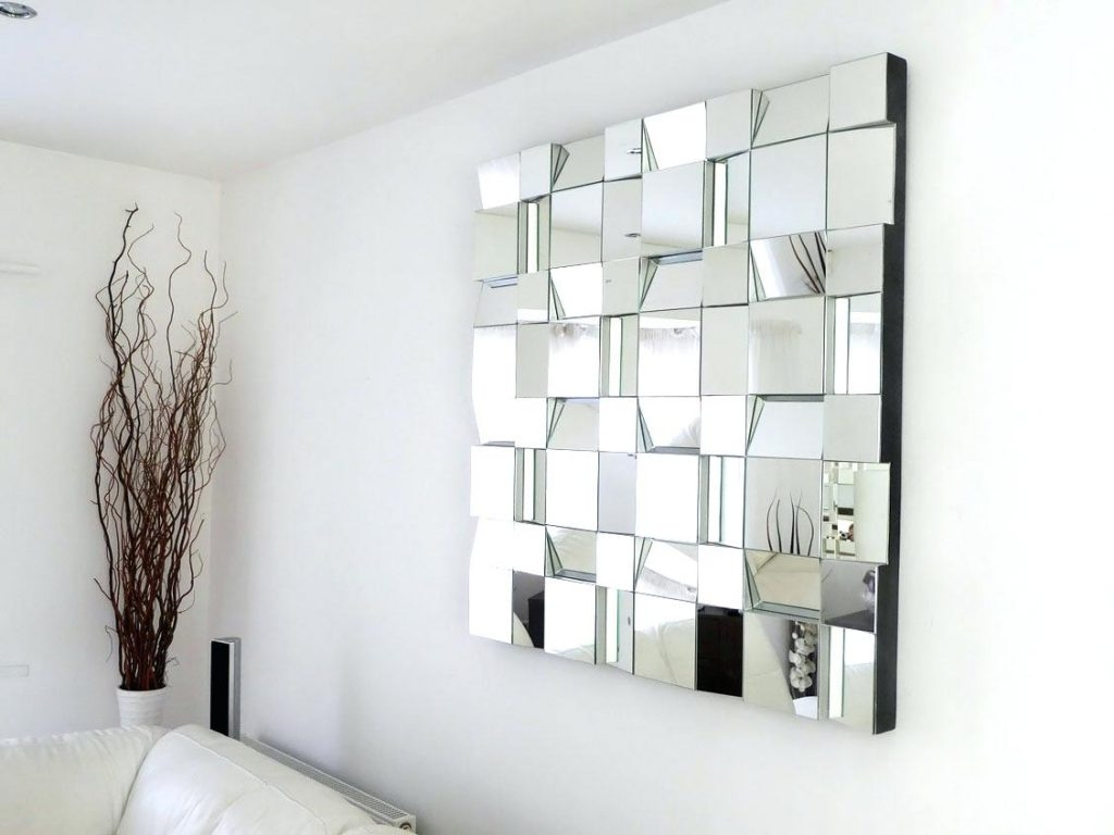Large Mirrored Wall Letters