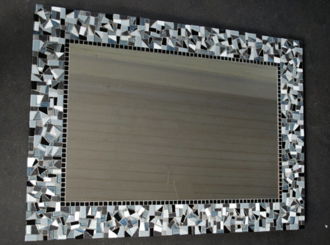 Large Mosaic Wall Mirrors