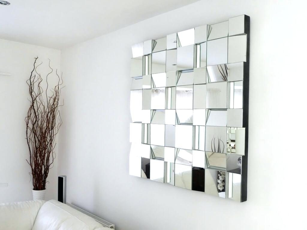 Large Plastic Wall Mirror