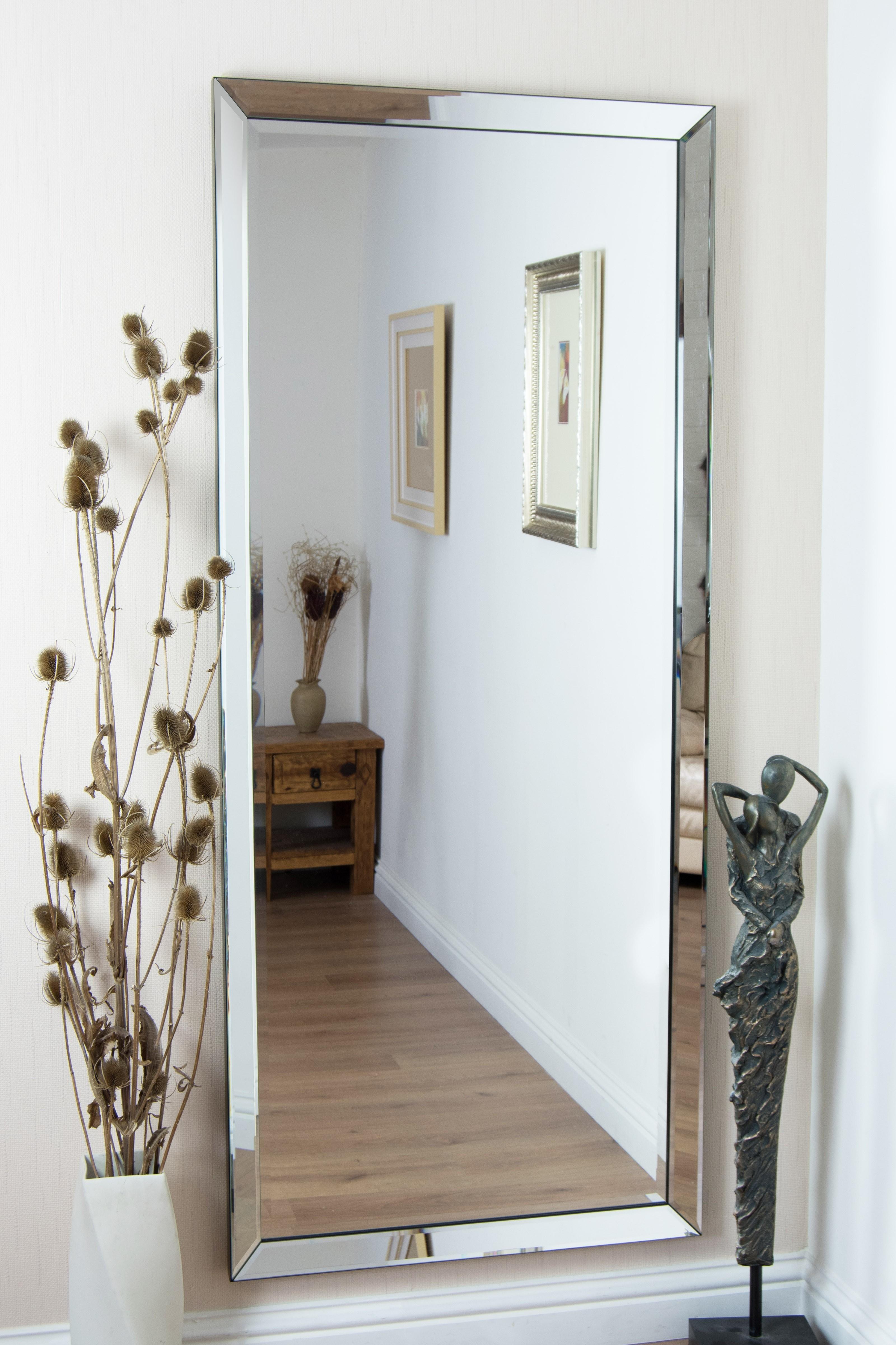 Large Rectangular Mirrors For Walls