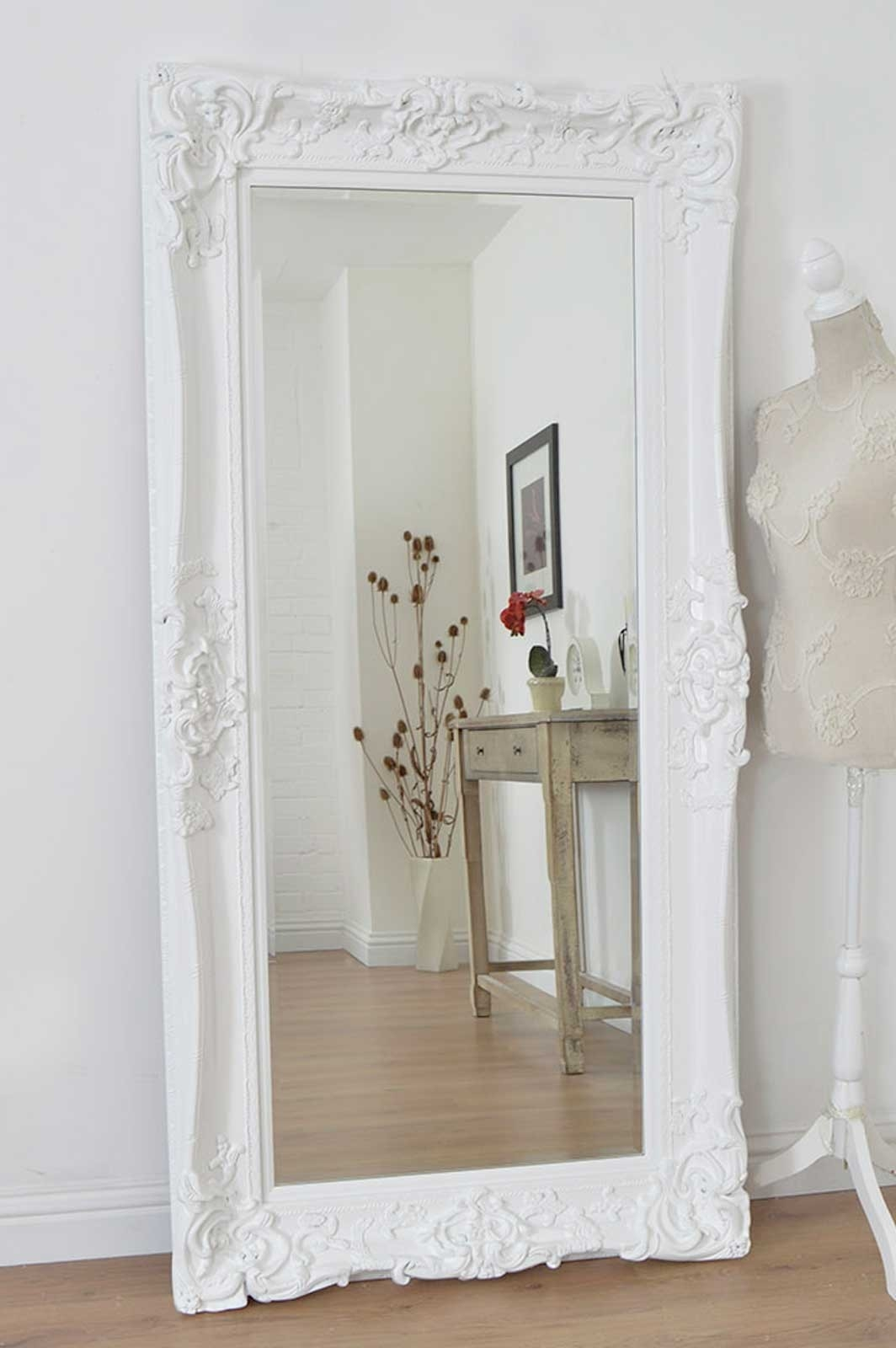 Large White Mirrors For Walls