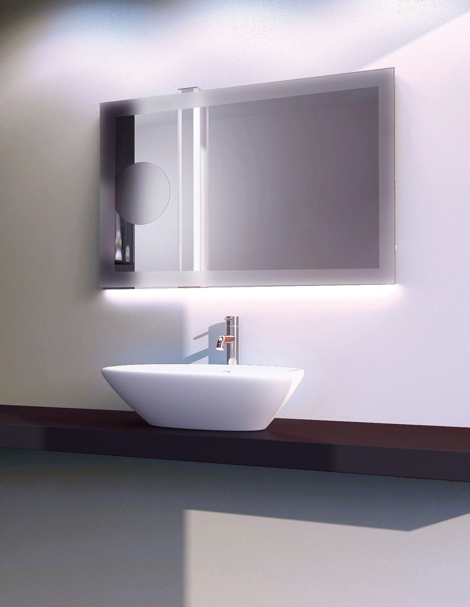 Led Bathroom Mirror With Demister