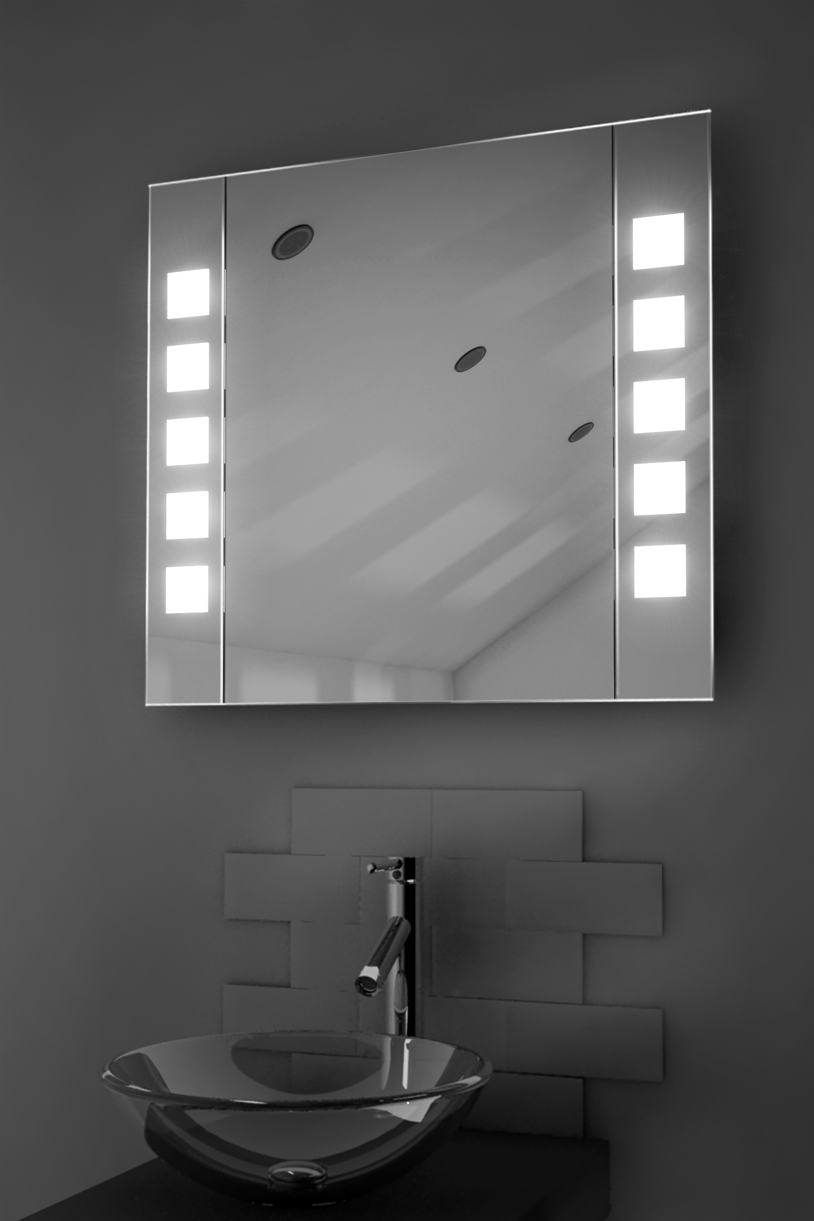 Permalink to Led Illuminated Bathroom Sensor Mirror