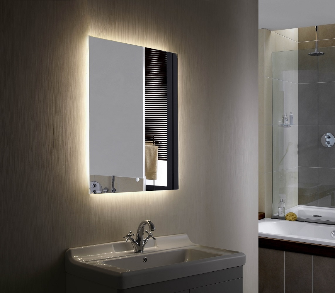 Led Illuminated Mirrors For Bathrooms