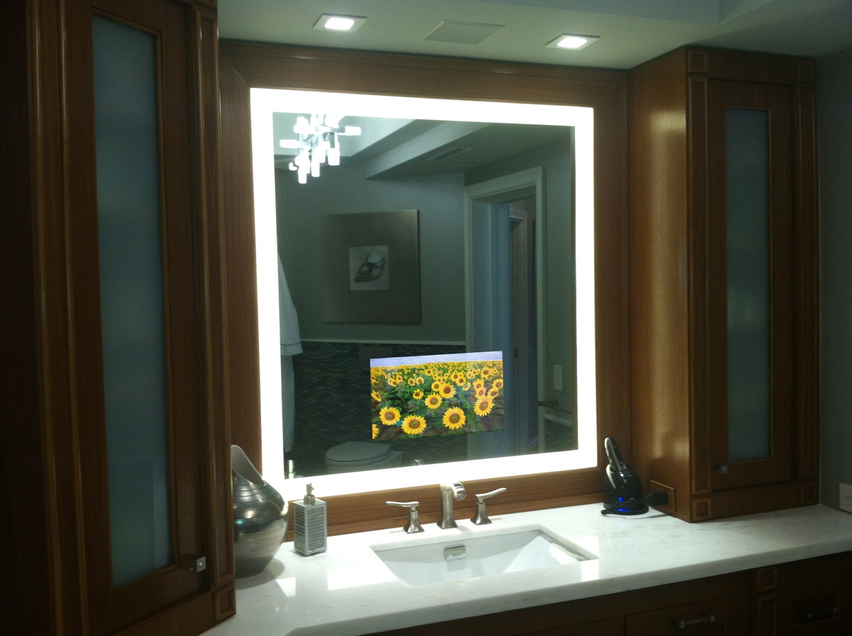 Permalink to Led Lighted Mirrors For Bathrooms