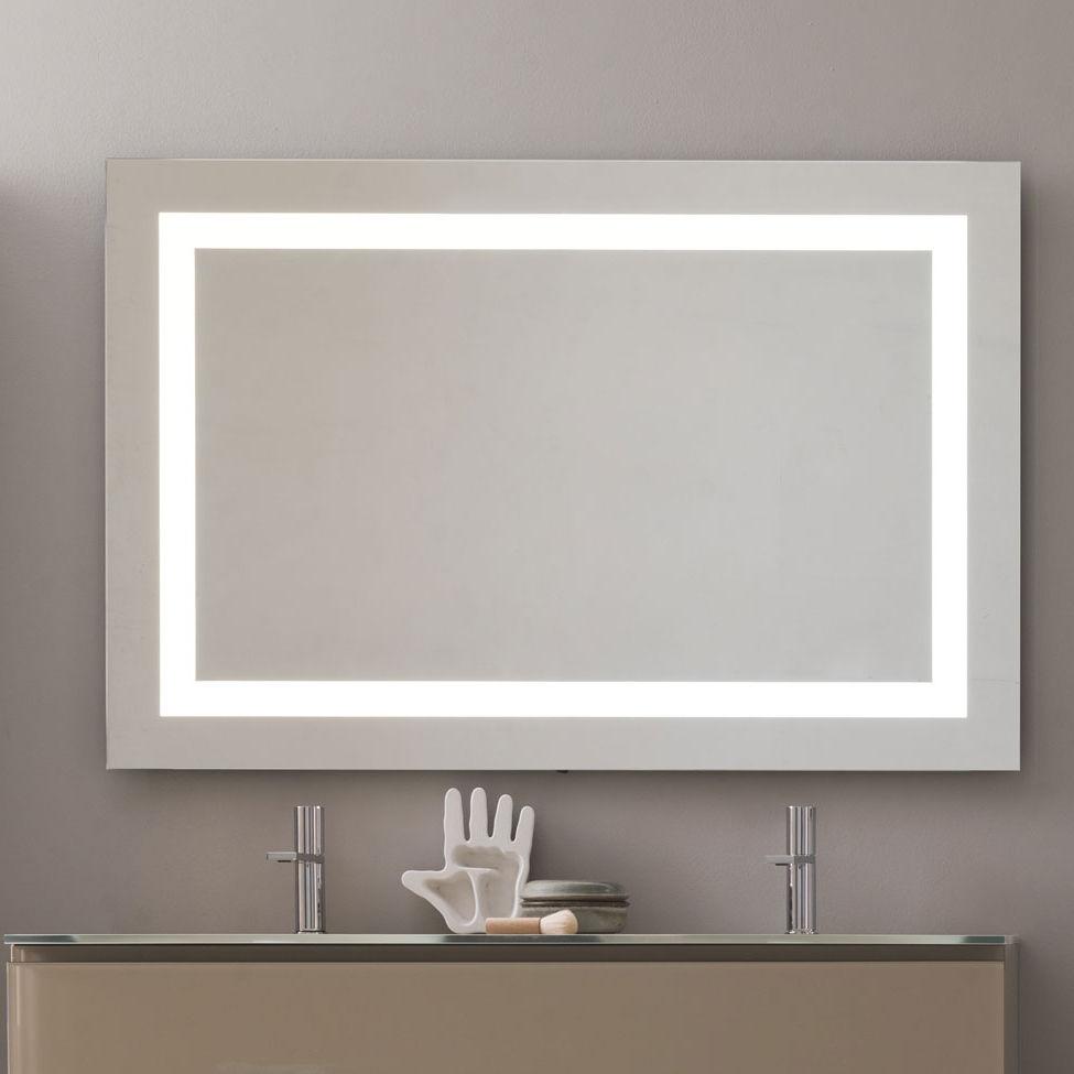 Led Rectangular Wall Mirror