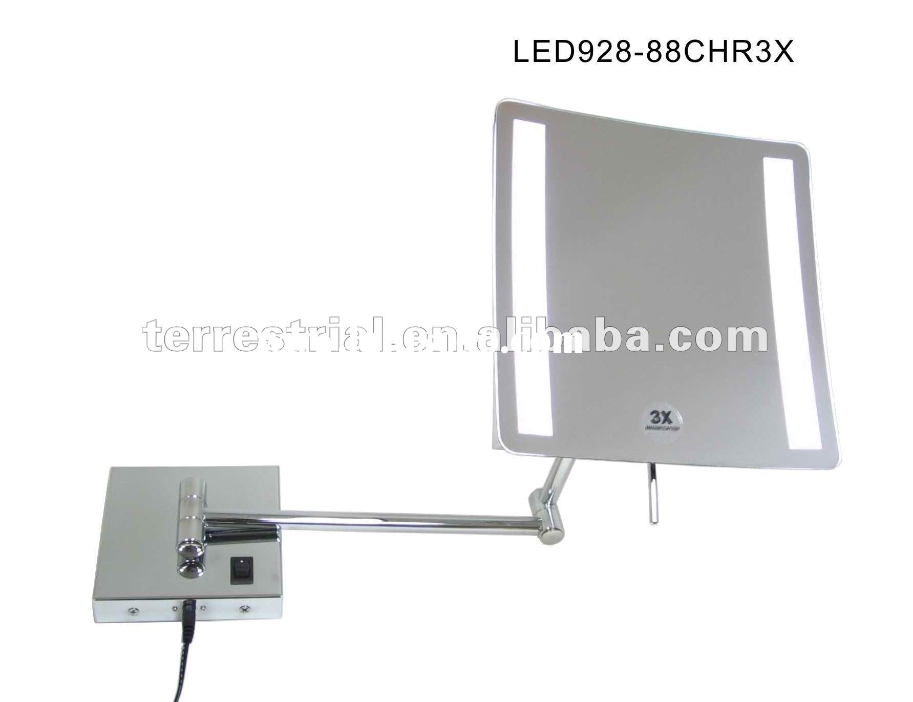 Led Wall Mounted Magnifying Mirror