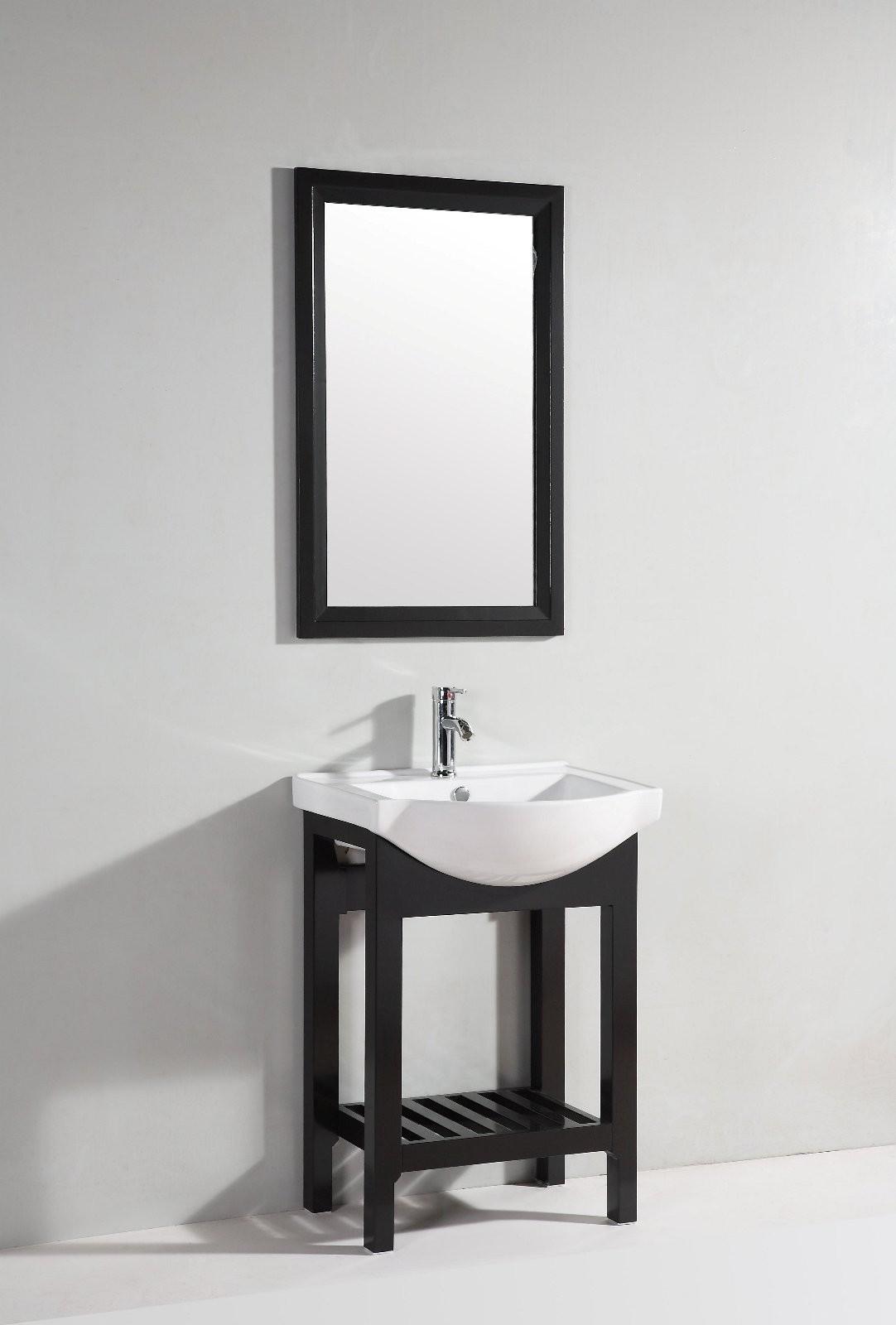 Legion Furniture 24 Single Bathroom Vanity Set With Mirror
