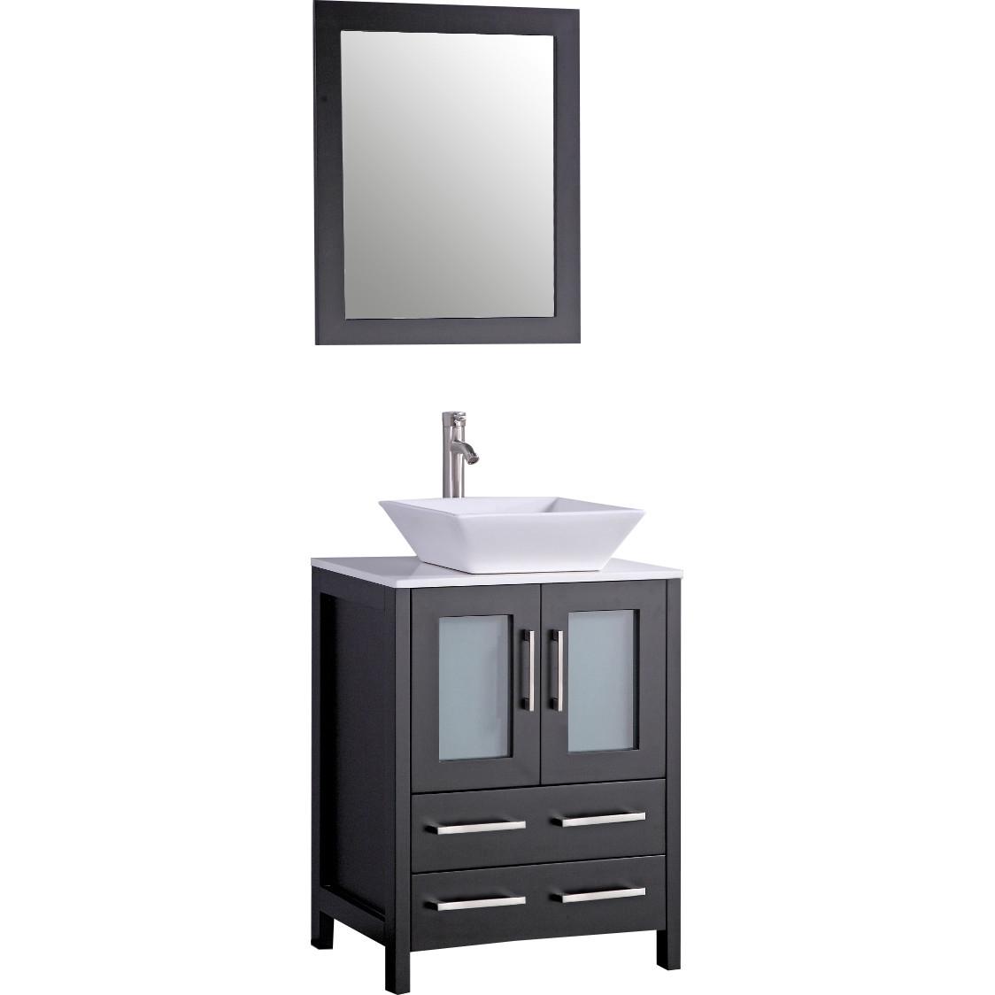 Legion Furniture 59 Bathroom Vanity Set With Mirrors