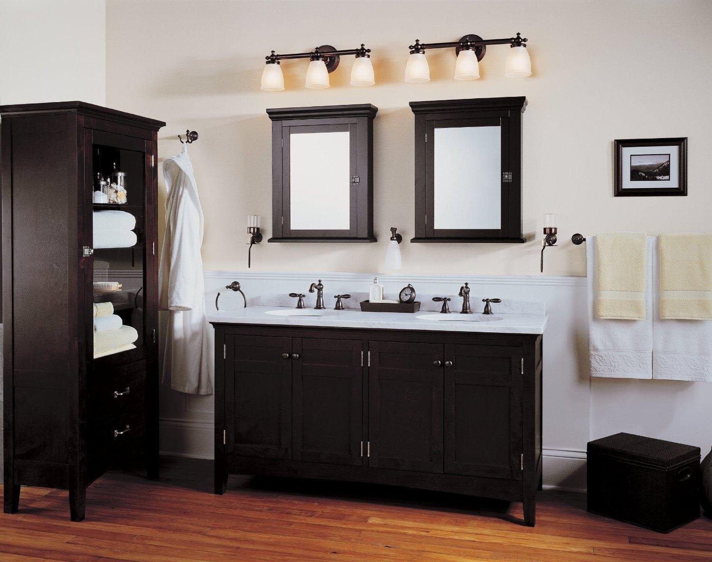 Light Above Mirror Bathroom