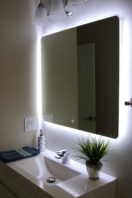 Permalink to Lighting Around Bathroom Mirrors