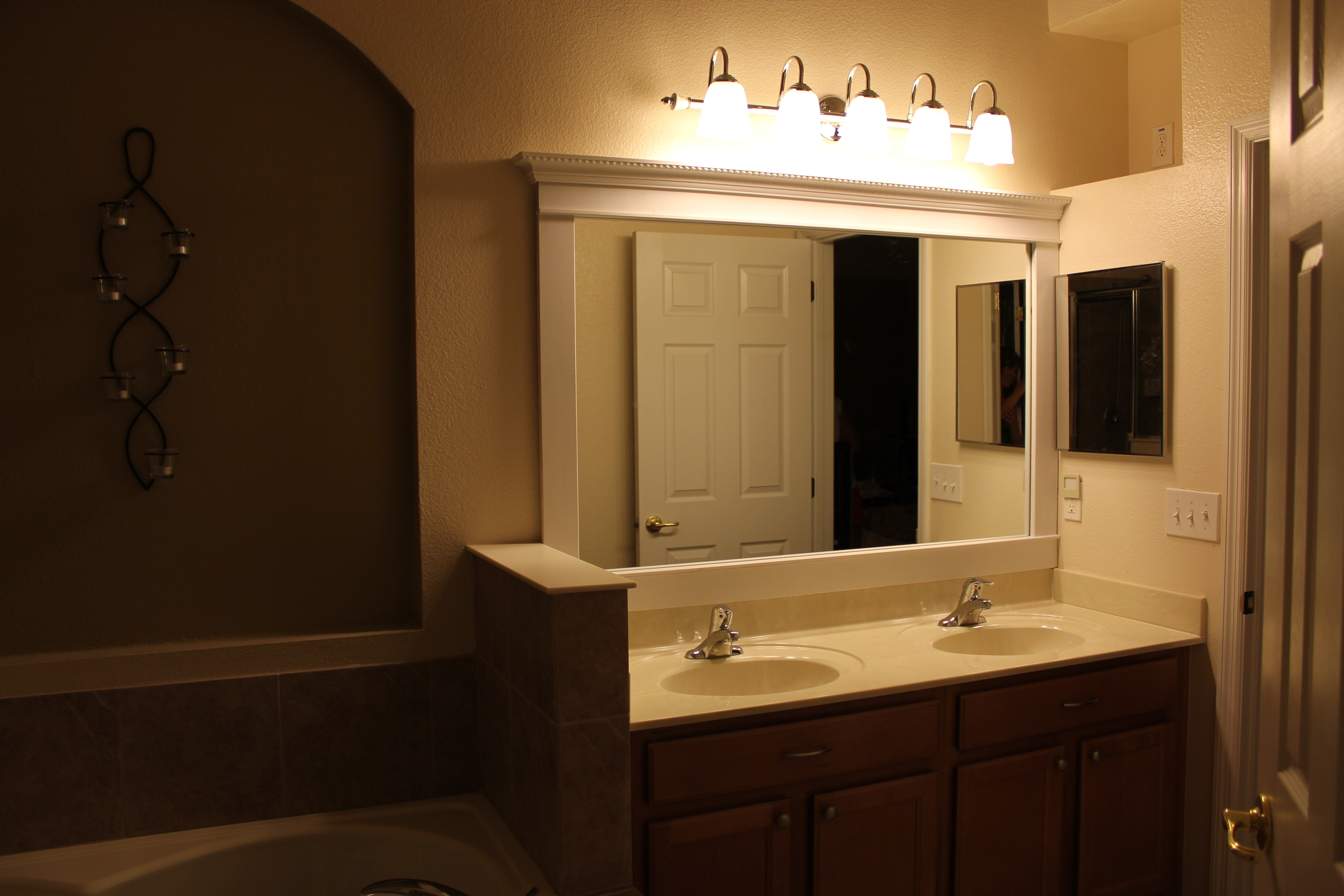 Lighting For Bathroom Mirrors