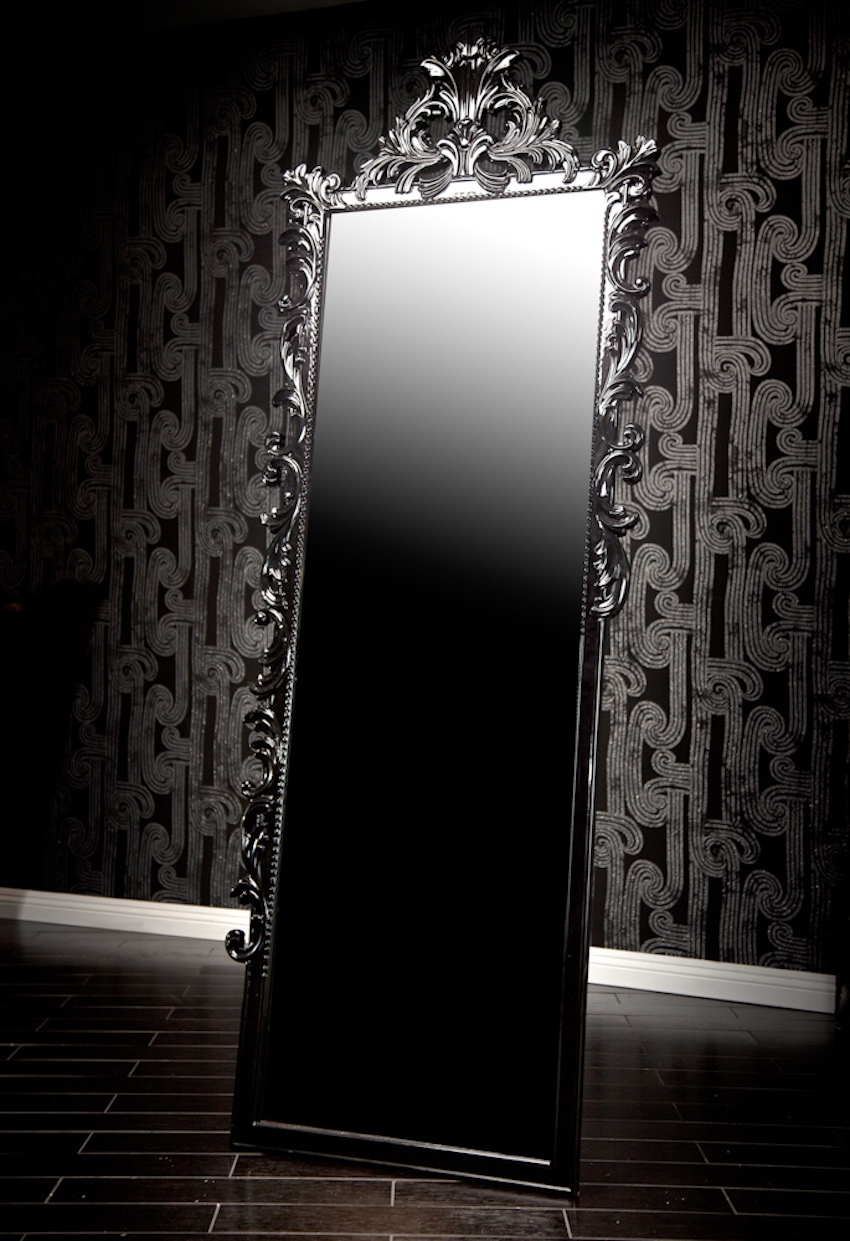 Long Black Wall Mirrors
