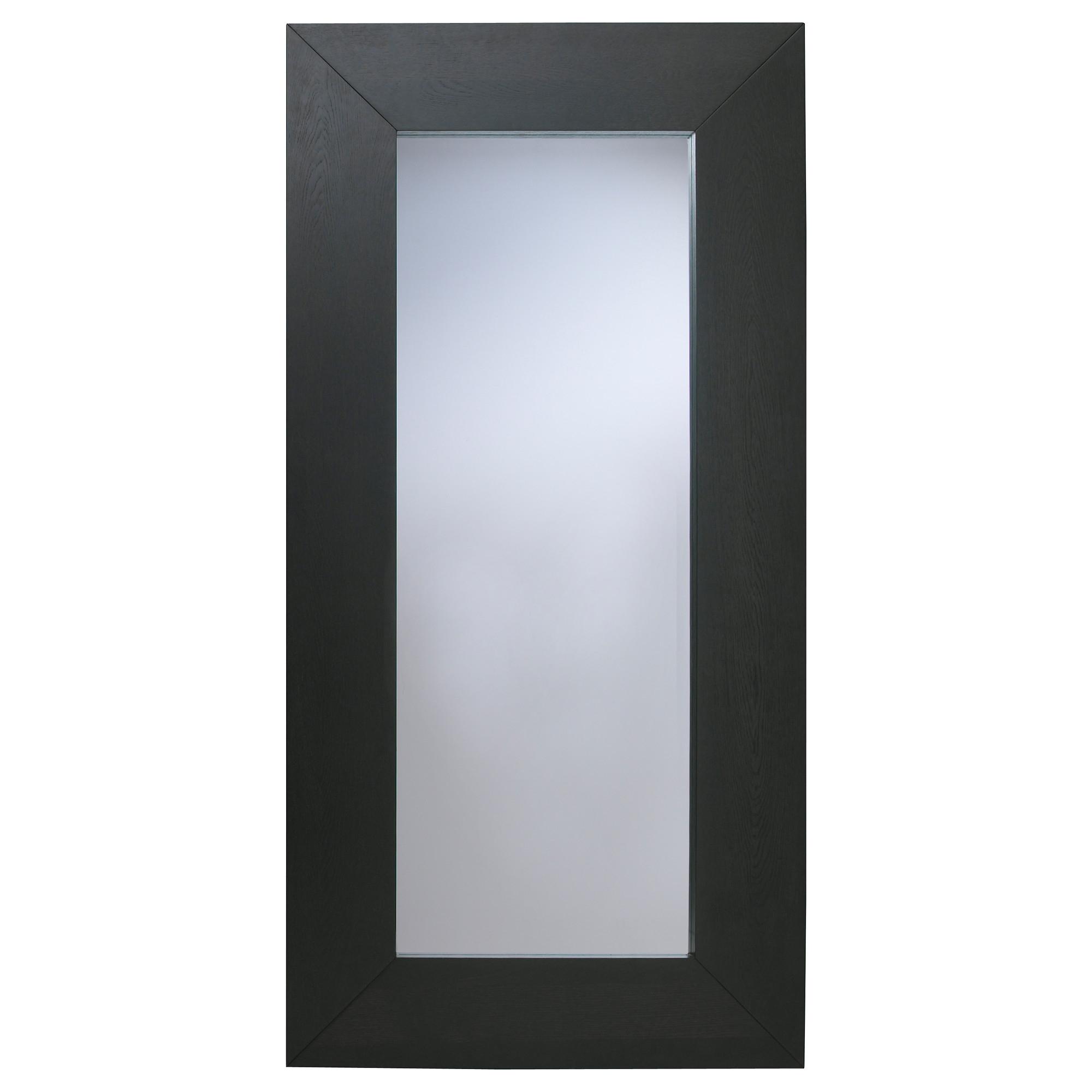 Long Grey Wall Mirror