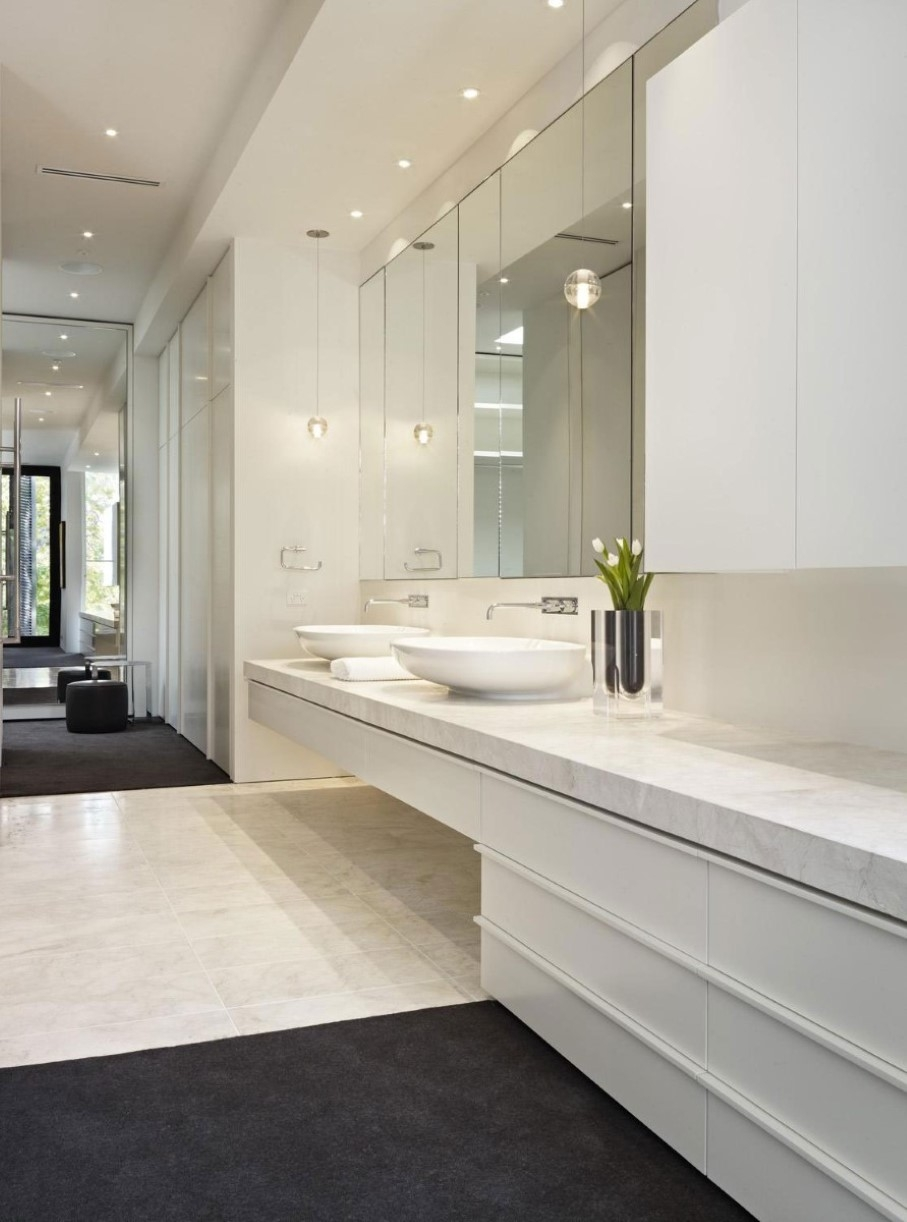Long Rectangular Bathroom Mirrors