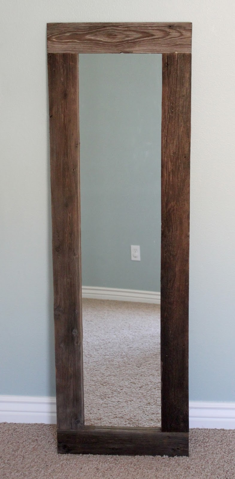 Long Thin Wall Mirror