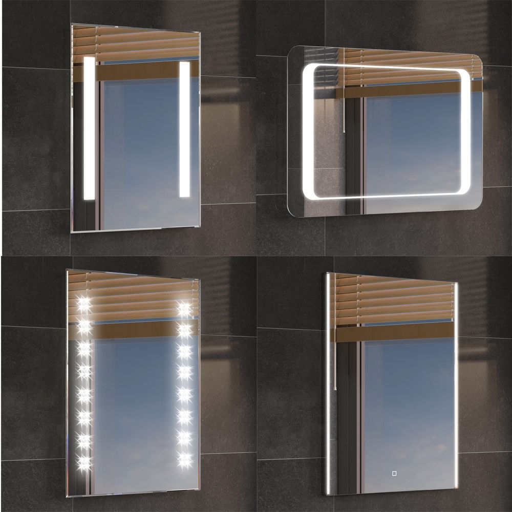 Luxury Bathroom Mirrors With Lights