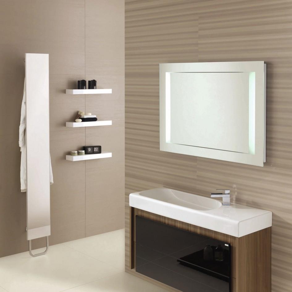 Maple Wood Bathroom Mirrors