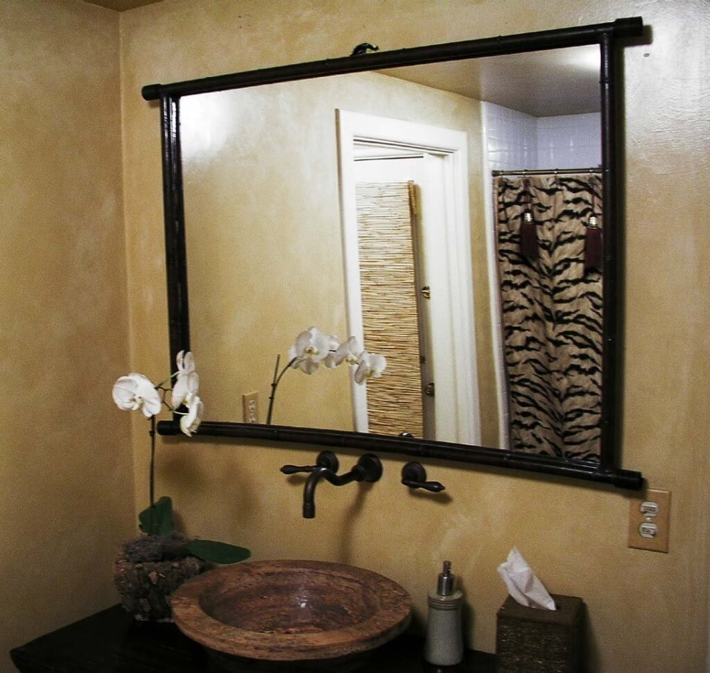 Metal Bathroom Wall Mirrors