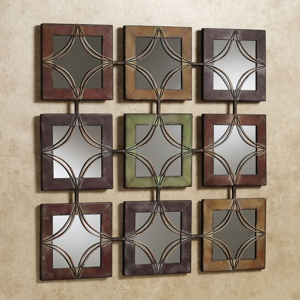 Metal Mirror Wall Panel