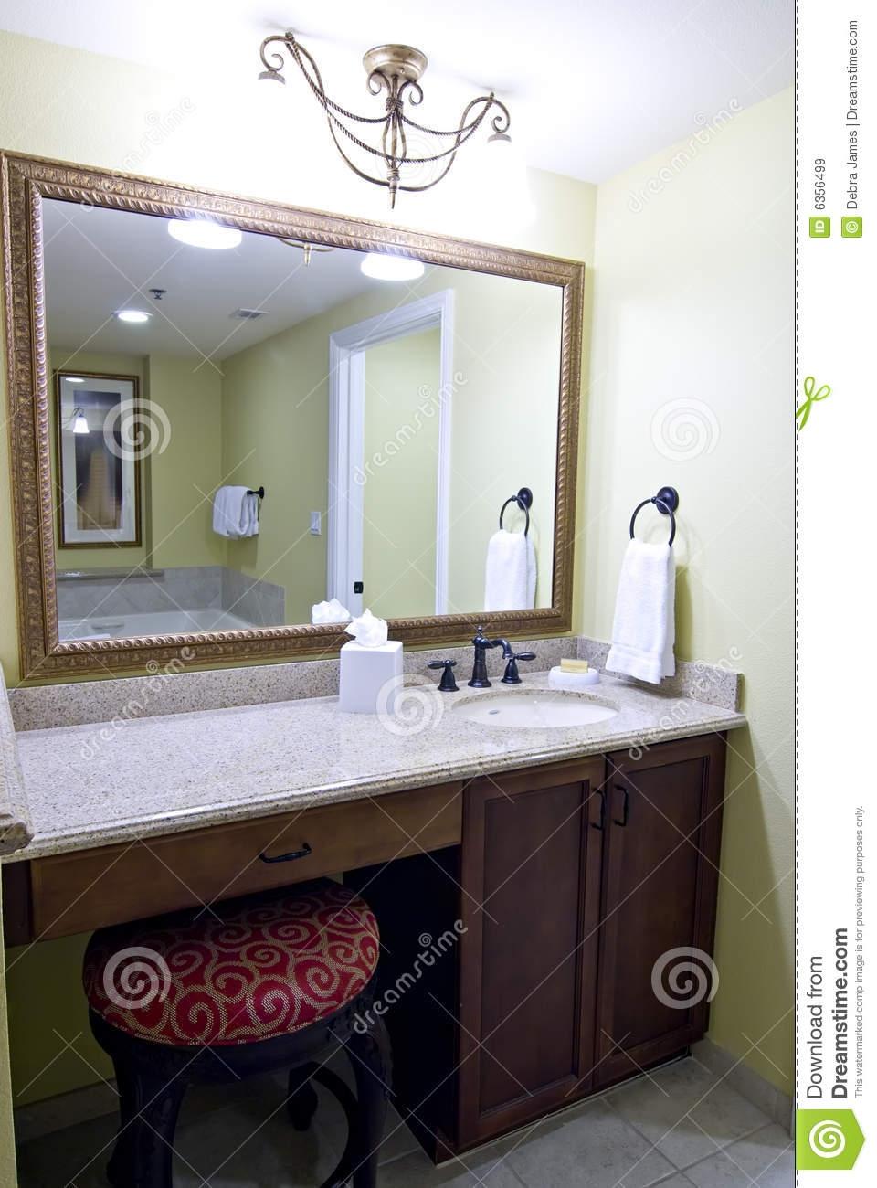 Mirror Above Bathroom Vanity