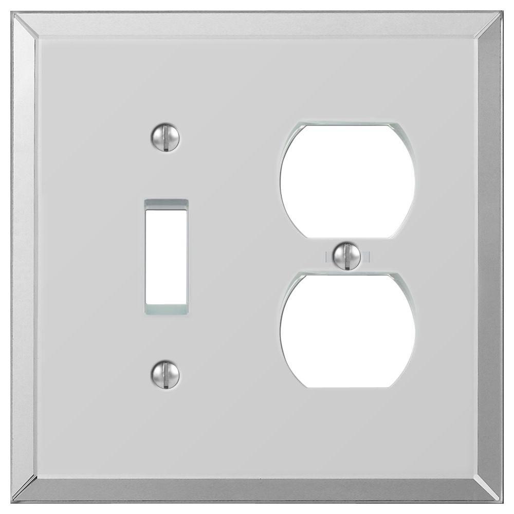 Mirror Duplex Wall Plate
