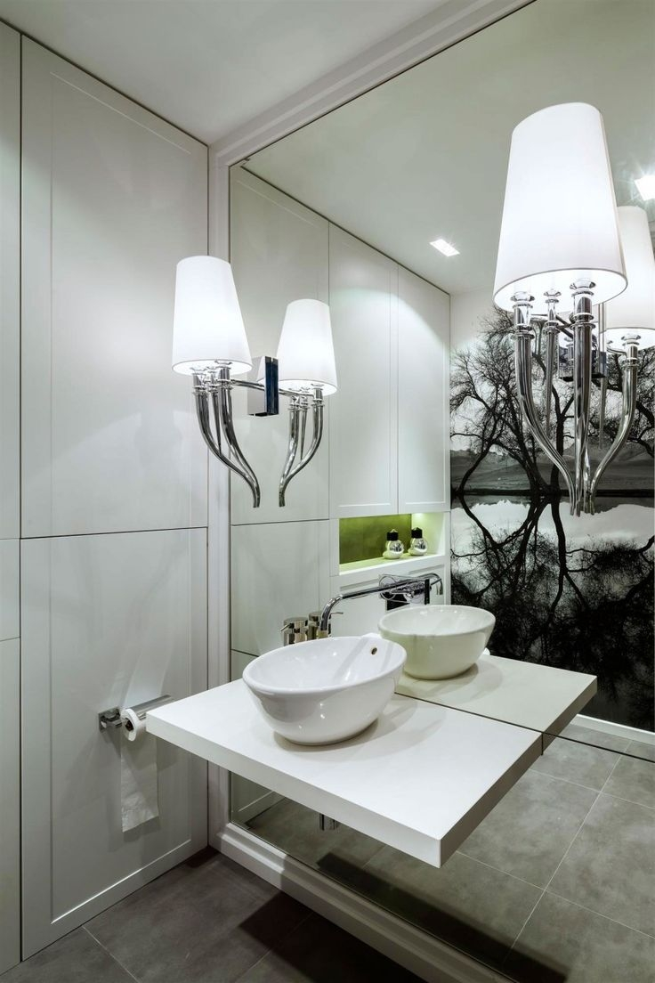 Mirror Effect Wall Covering