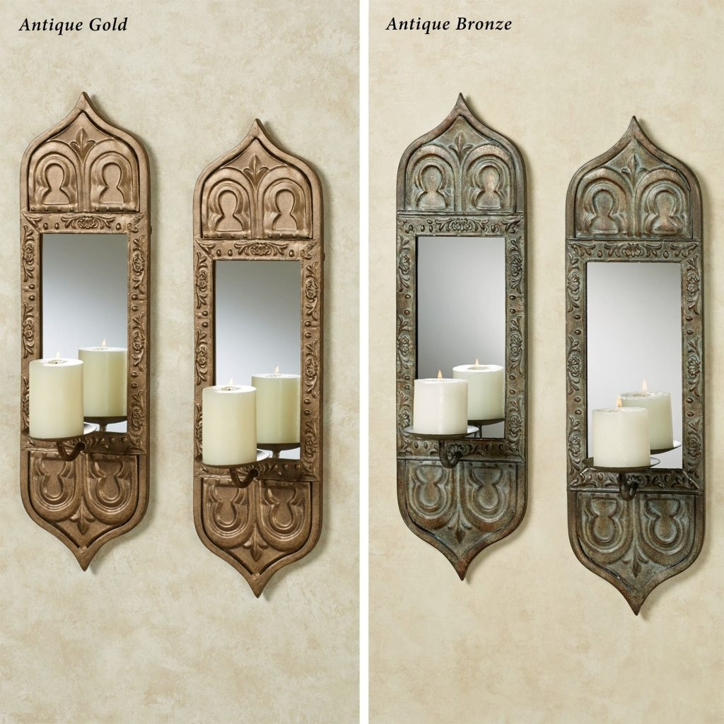 Mirror Mounted Wall Sconces