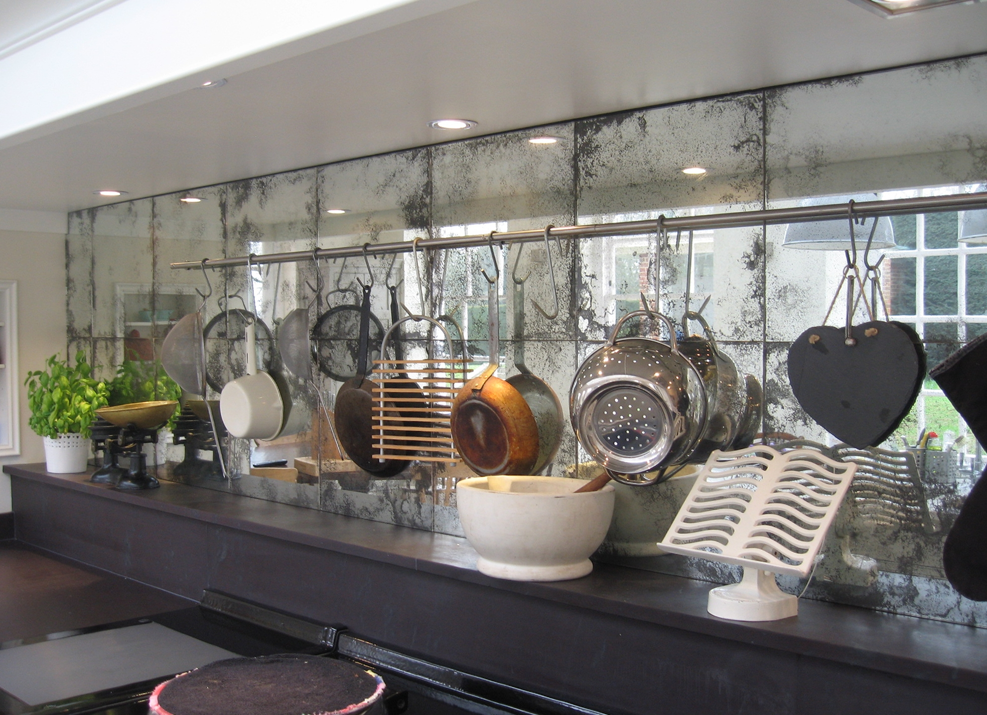 Mirror Panels For Kitchen Walls