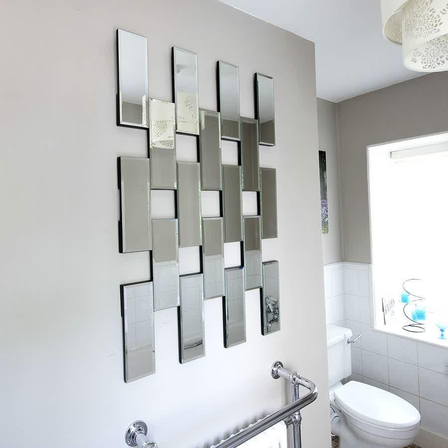 Mirror Tile Wall Art