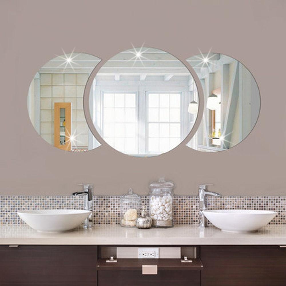 Mirror Tile Wall Stickers