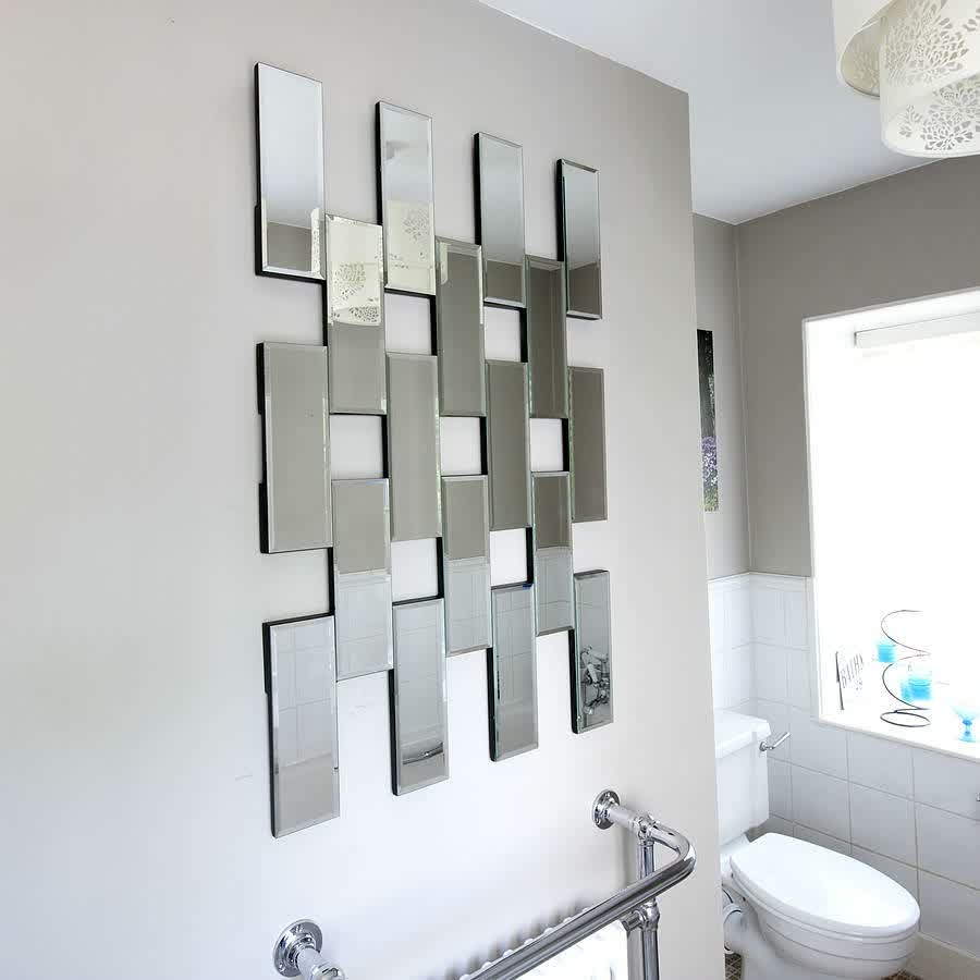 Mirror Tiles Wall Art Mirror Tiles Wall Art 5 smart ways to use mirrors in a small home or apartment 900 X 900