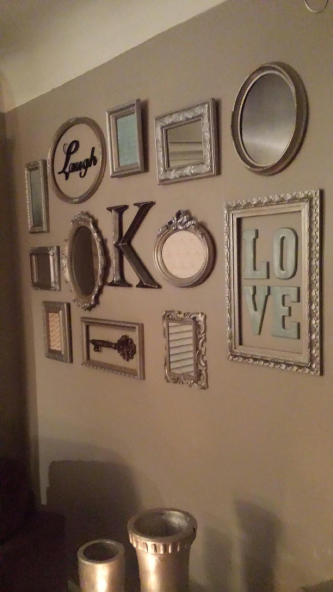 Mirror Wall Art Letters