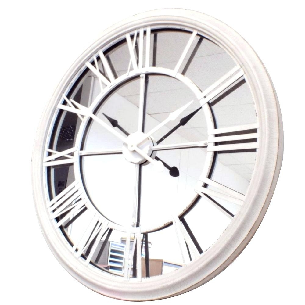 Mirror Wall Clock Large