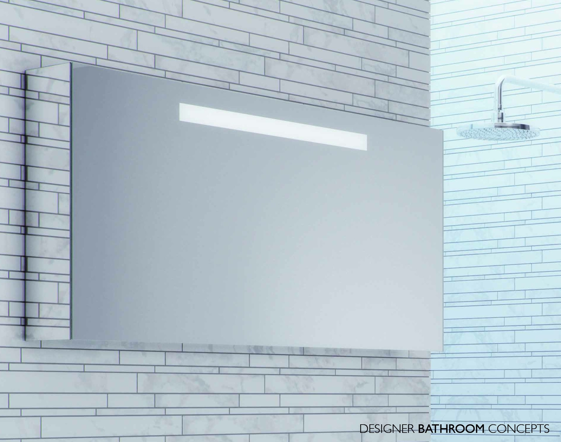 Mirrored Bathroom Cabinet 1200mm