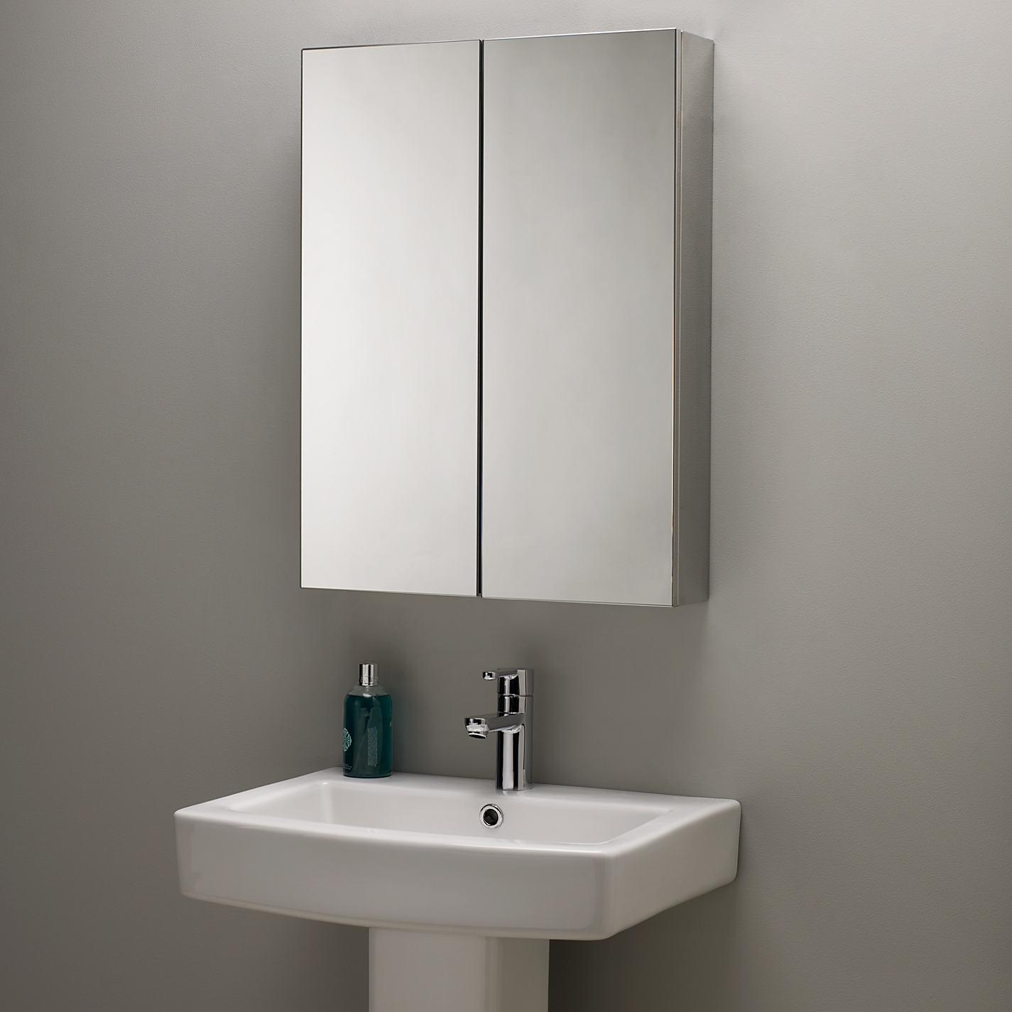 Mirrored Bathroom Cabinet John Lewis