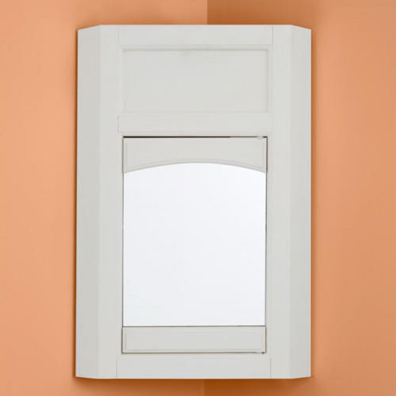 Permalink to Mirrored Bathroom Cabinet Single Door