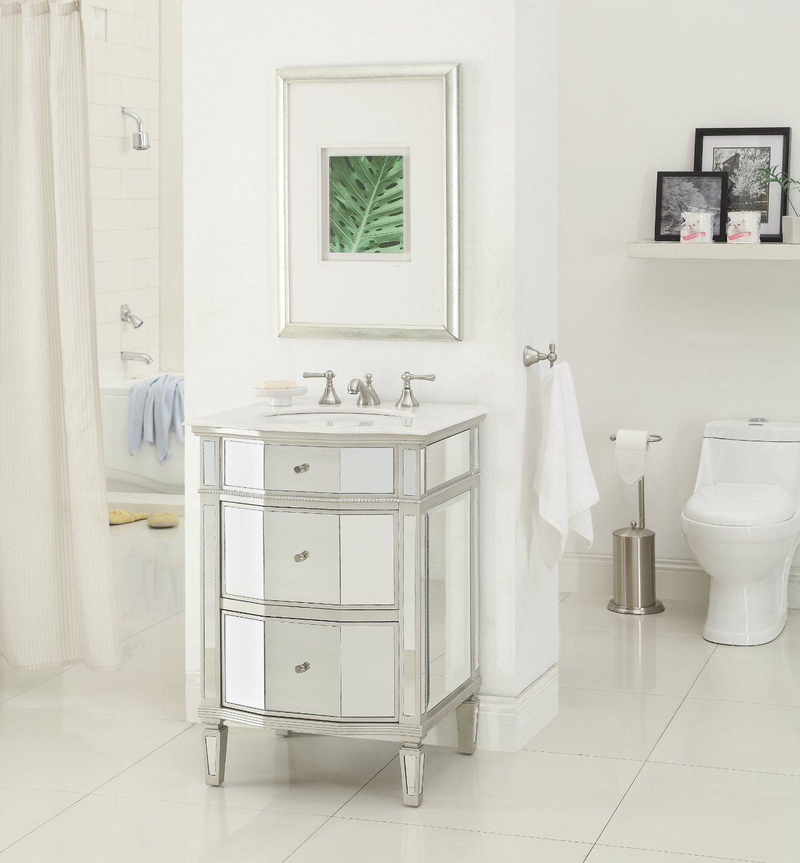 Mirrored Bathroom Vanity 24